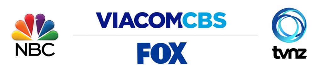 NBC, ViacomCBS, FOX, TVNZ